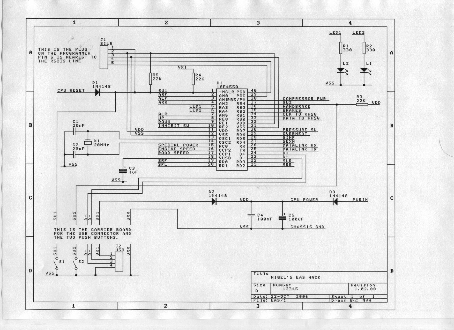 cpu circuit diagram